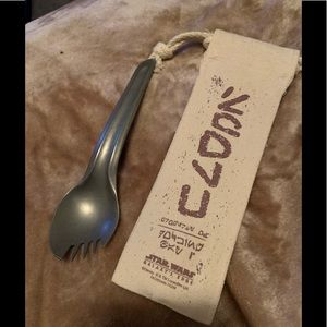 STAR WARS GALAXY'S EDGE New SPORK W/Cloth Pouch
